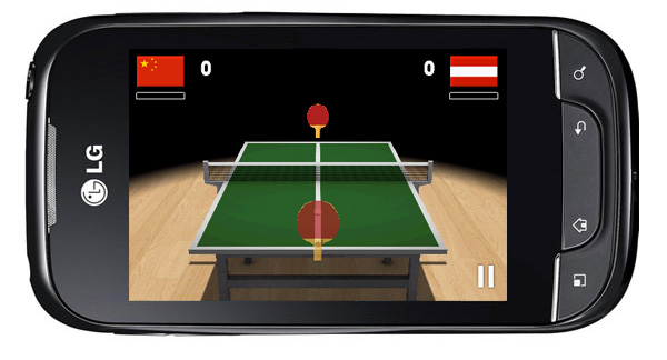 Android-гид: игра Virtual Table Tennis 3D