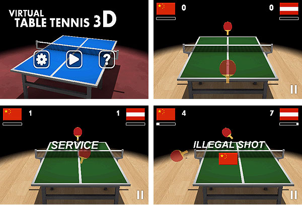 Android-гид: игра Virtual Table Tennis 3D-2
