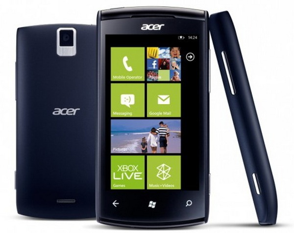 Acer Allegro: смартфон на Windows Phone 7.5 Mango за 300 евро