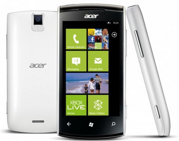 Acer Allegro: смартфон на Windows Phone 7.5 Mango за 300 евро-2