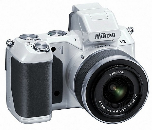 Nikon 1 V2 quick-fire mirror without a mirror for 14 MP