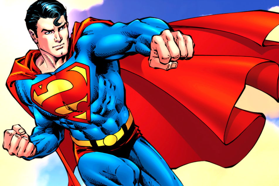 Картинки супермена с телефоном