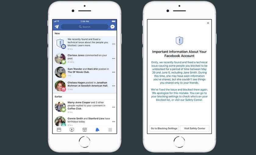 Facebook по ошибке разблокировал тысячи пользователей из «черных списков»