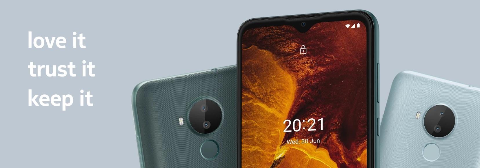 Nokia C30 уже в Украине  бюджетный долгожитель на Android 11 Go за 3 399 грн