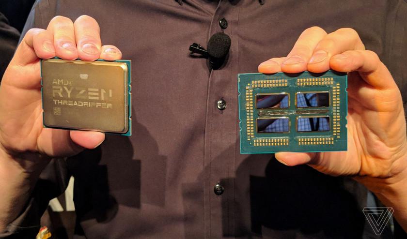 AMD представила 32-ядерный процессор Ryzen Threadripper второго поколения
