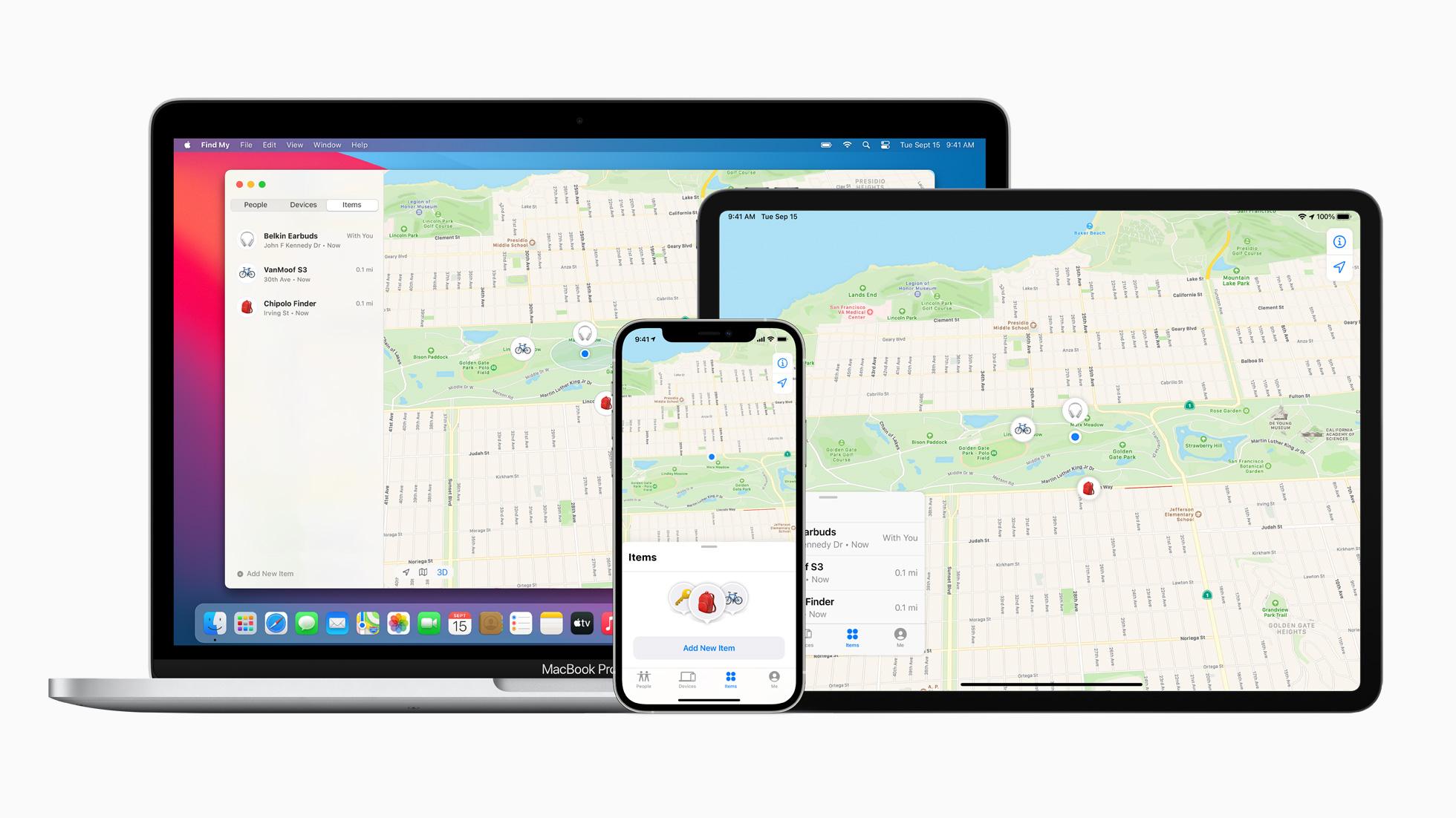 Apple обновила сервис Find My: в приложении теперь можно отслеживать устройства сторонних производителей