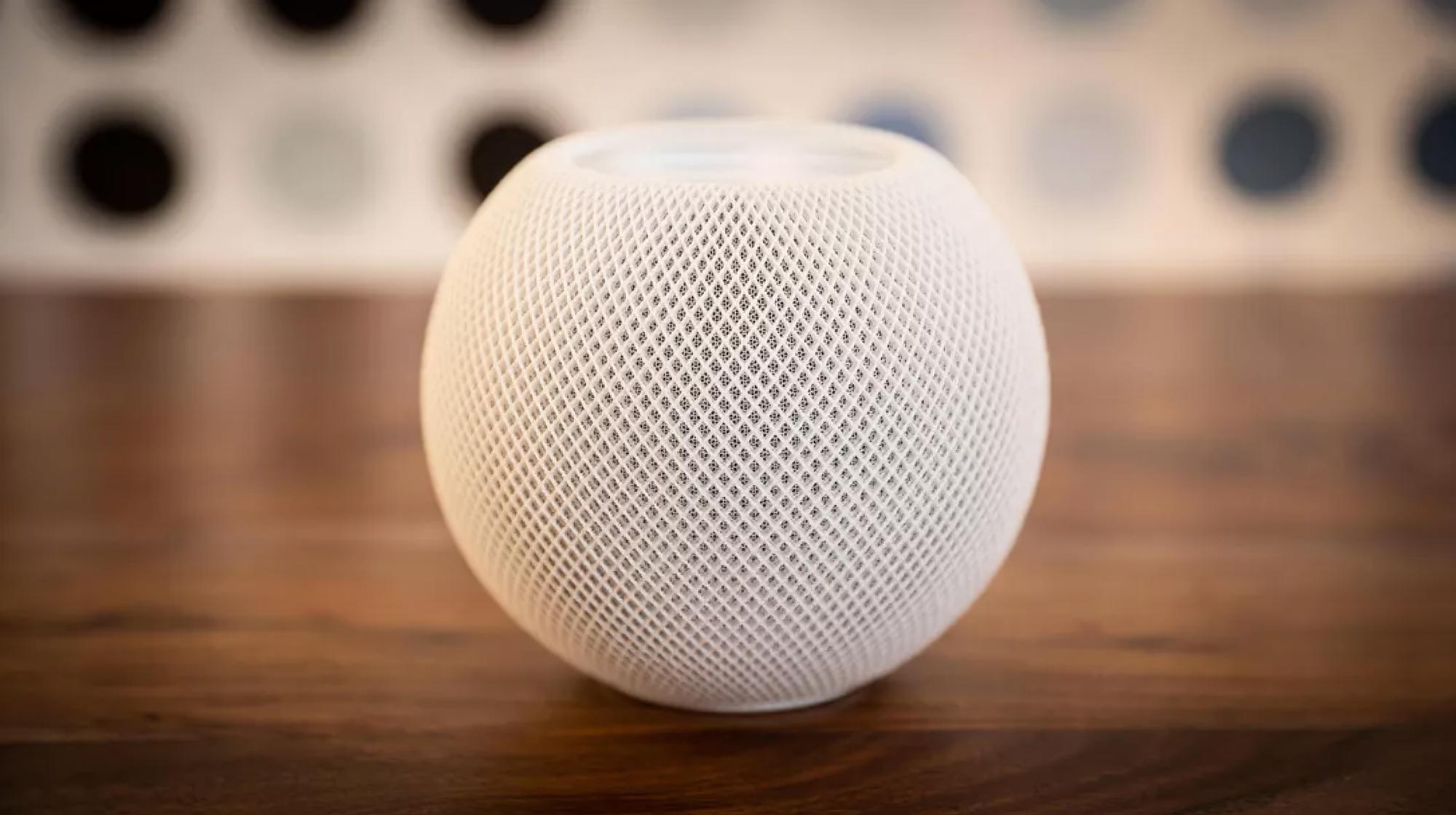 Bloomberg: в смарт-колонке Apple HomePod mini есть скрытые датчики температуры и влажности