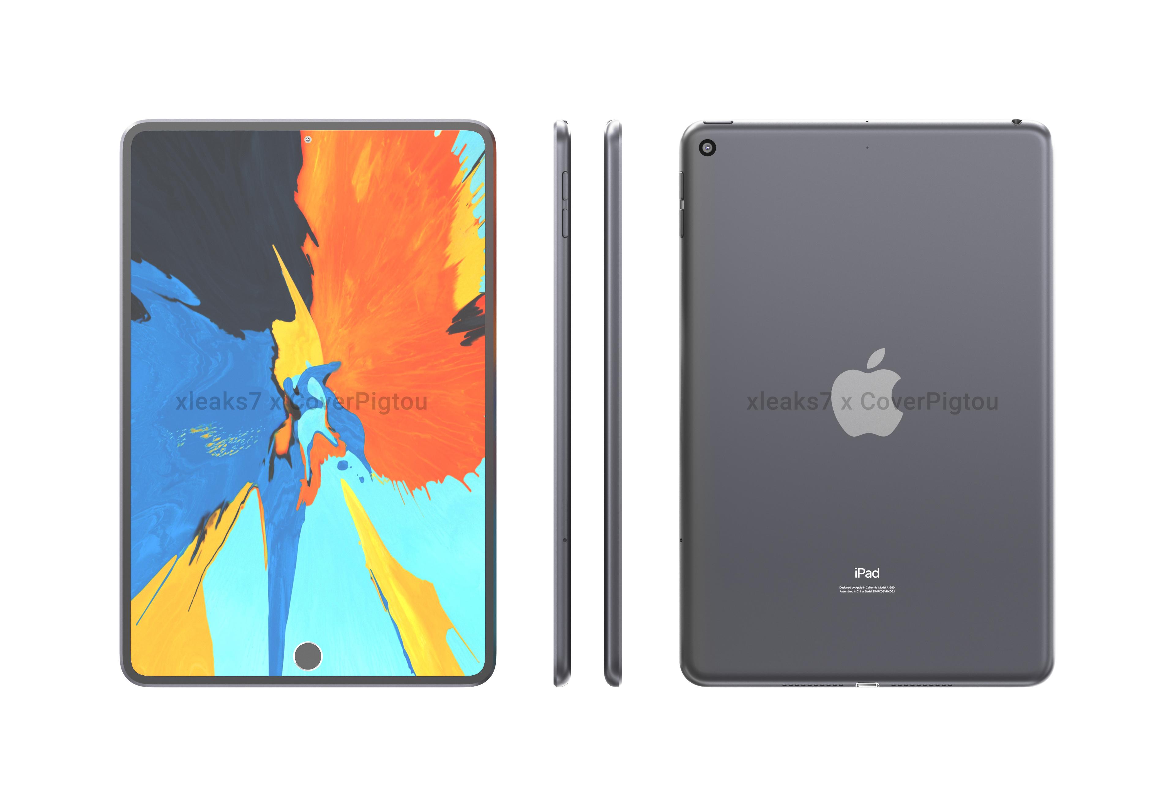 Apple в этом году может выпустить iPad Mini 6 с увеличенным дырявым дисплеем и встроенным в него Touch ID