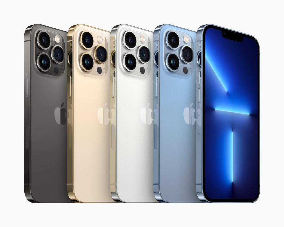 iPhone 13 Pro и 13 Pro Max  Apple A15 Bionic, 120-Гц экран, профессиональные камеры и до 1 ТБ памяти по цене от $999