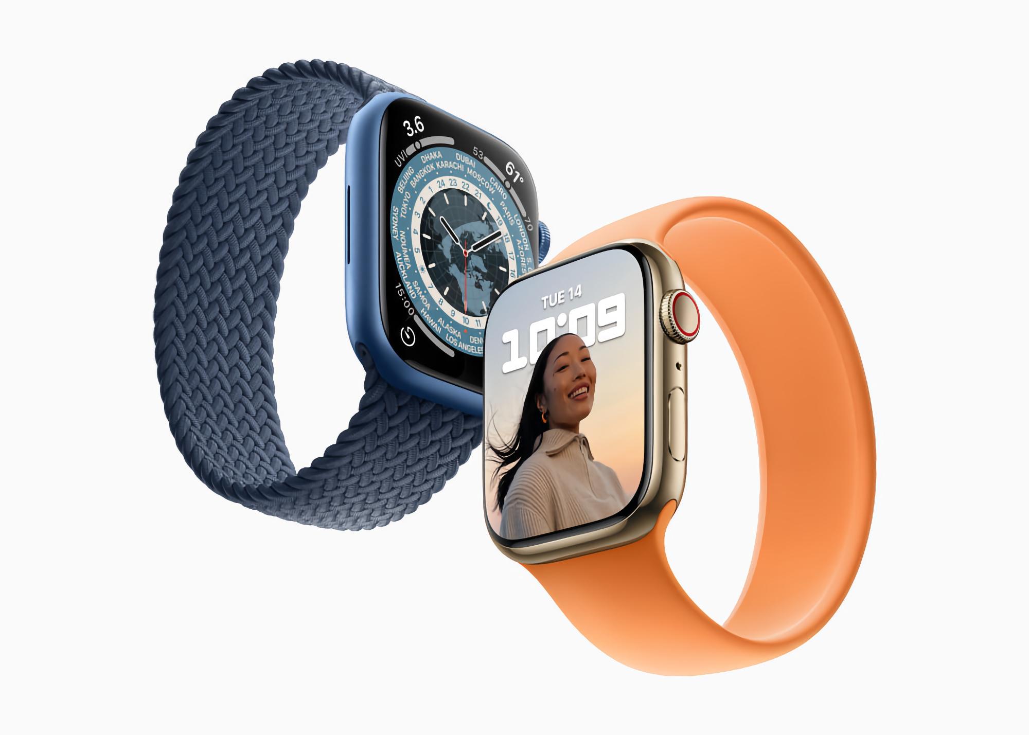 Слух: Apple Watch Series 8 выйдут на рынок в трёх размерах