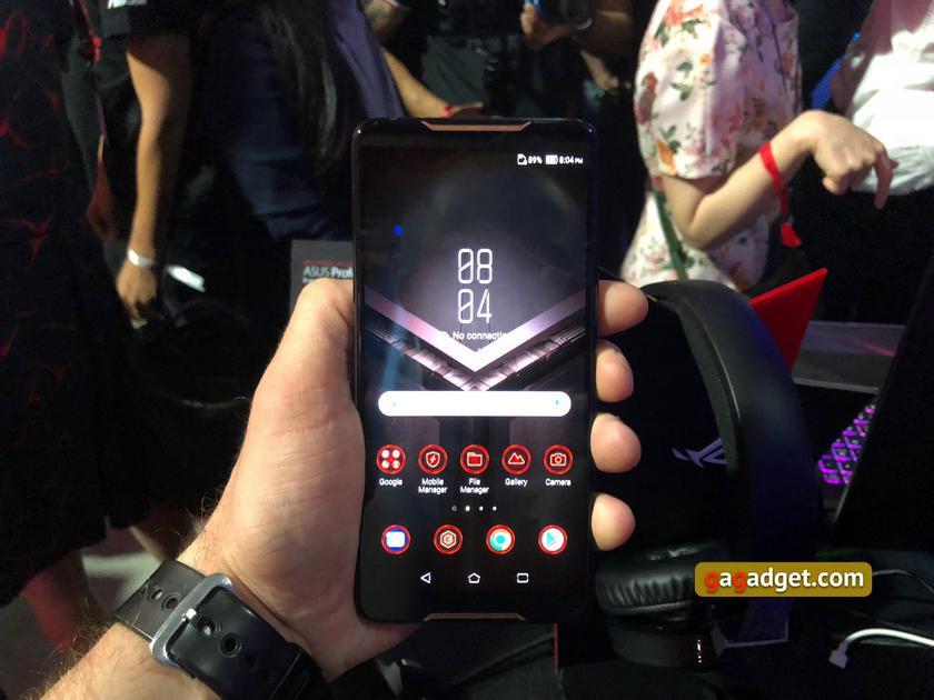Asus ROG Phone быстрее других смартфонов на Snapdragon 845