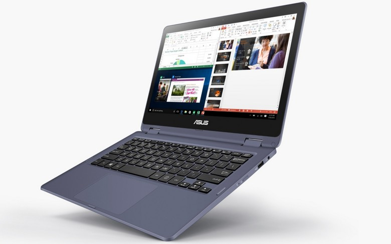 Asus Laptop TP202NA: budget laptop at Intel Apollo Lake