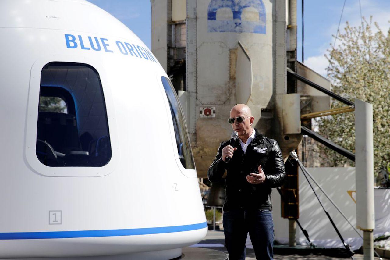 Blue Origin Джеффа Безоса подает в суд на NASA в борьбе за Лунный контракт