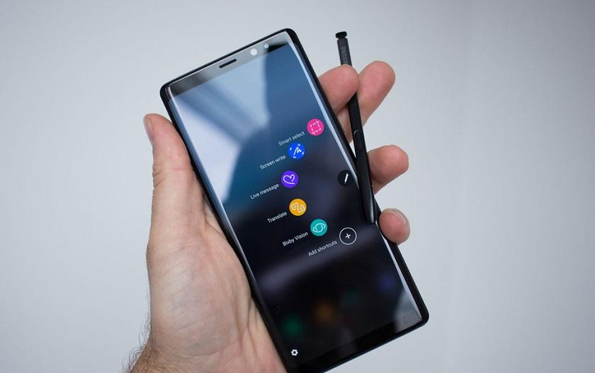Официально: стилус S Pen для Samsung Galaxy Note 9 получит Bluetooth-модуль