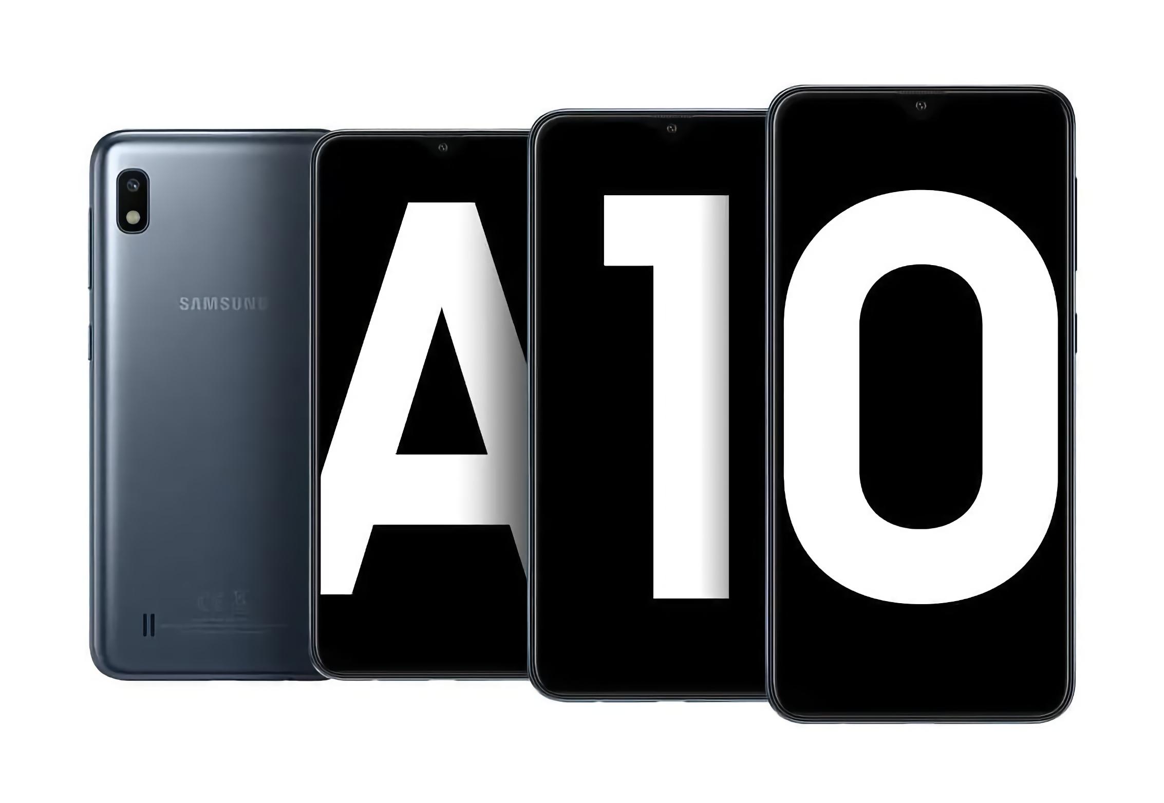 Бюджетник Samsung Galaxy A10 начал получать последнее крупное обновление ПО