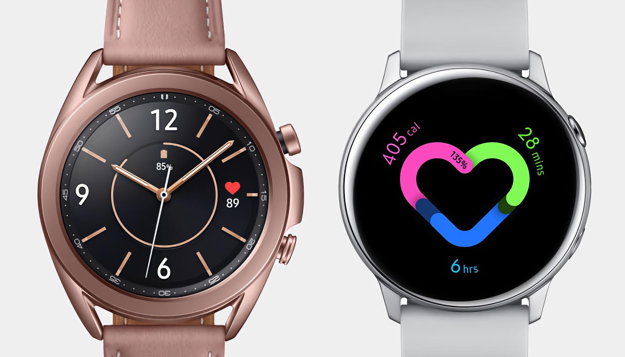 Samsung Galaxy Watch 3 и Galaxy Watch Active 2 получили новое обновление ПО
