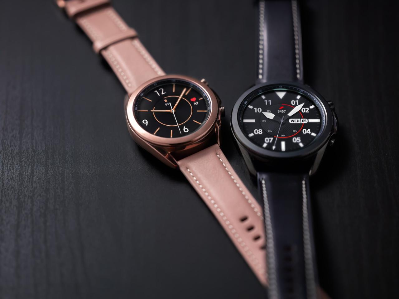 Samsung с новым обновление ПО улучшила работу часов Galaxy Watch и Galaxy Watch 3