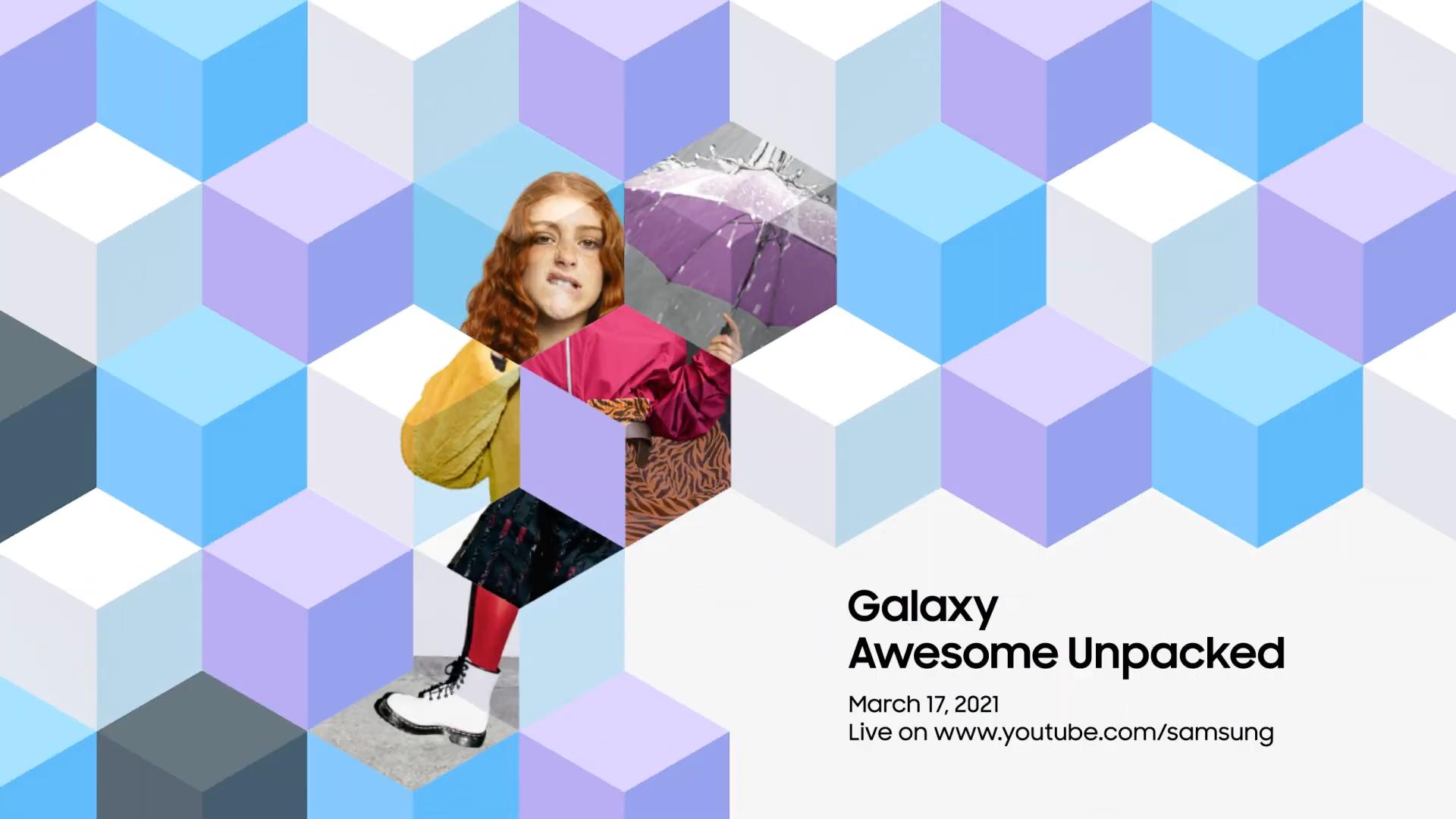 Samsung объявила о мероприятии Galaxy Awesome Unpacked 17 марта: ждём Galaxy A52 и Galaxy A72