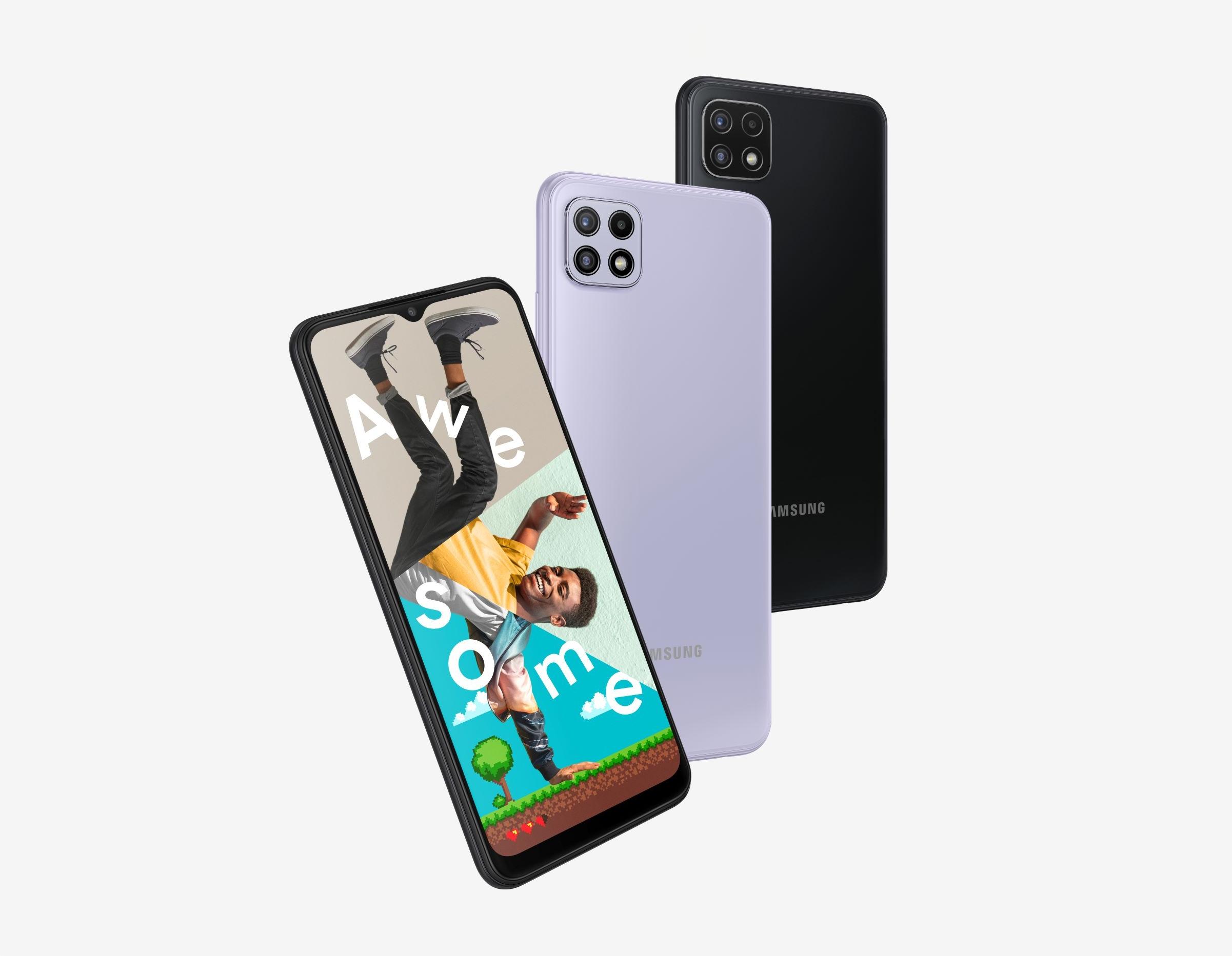 Samsung готовит к выходу Galaxy F42 5G: переименованная версия Galaxy A22 5G c экраном на 90 Гц, чипом Dimensity 700 и камерой на 48 МП