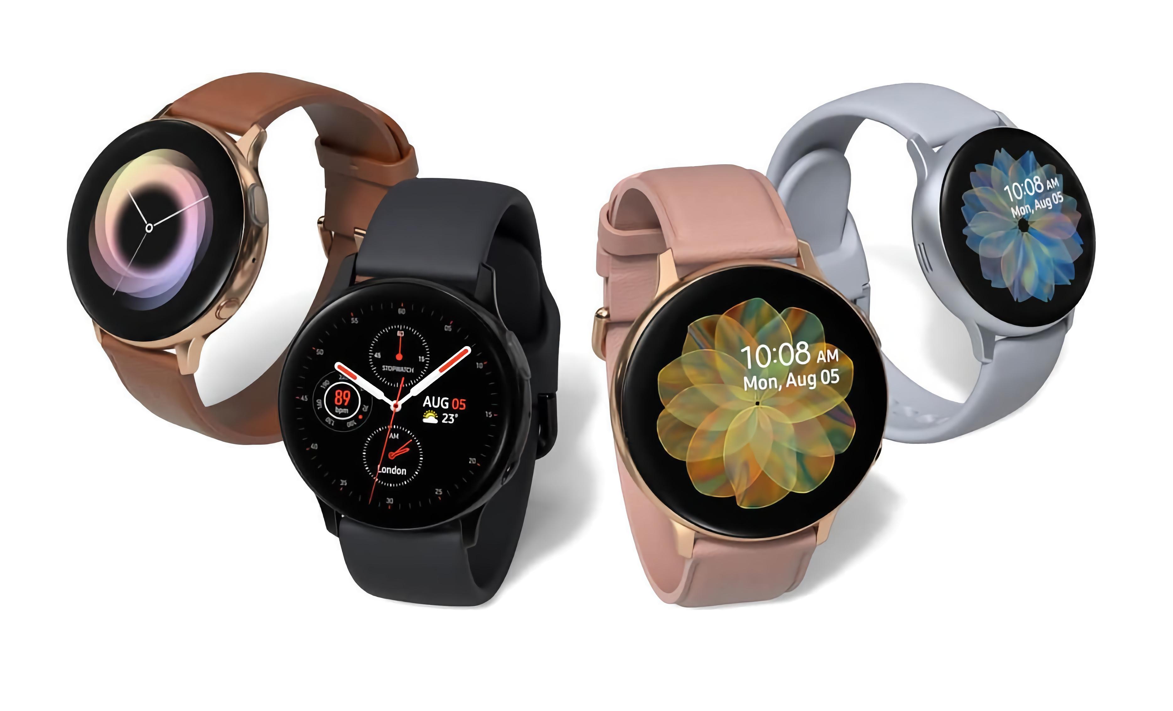 Вслед за Galaxy Watch и Galaxy Watch 3: Samsung анонсировала новую прошивку для Galaxy Watch Active и Galaxy Watch Active 2 (но это не важно)