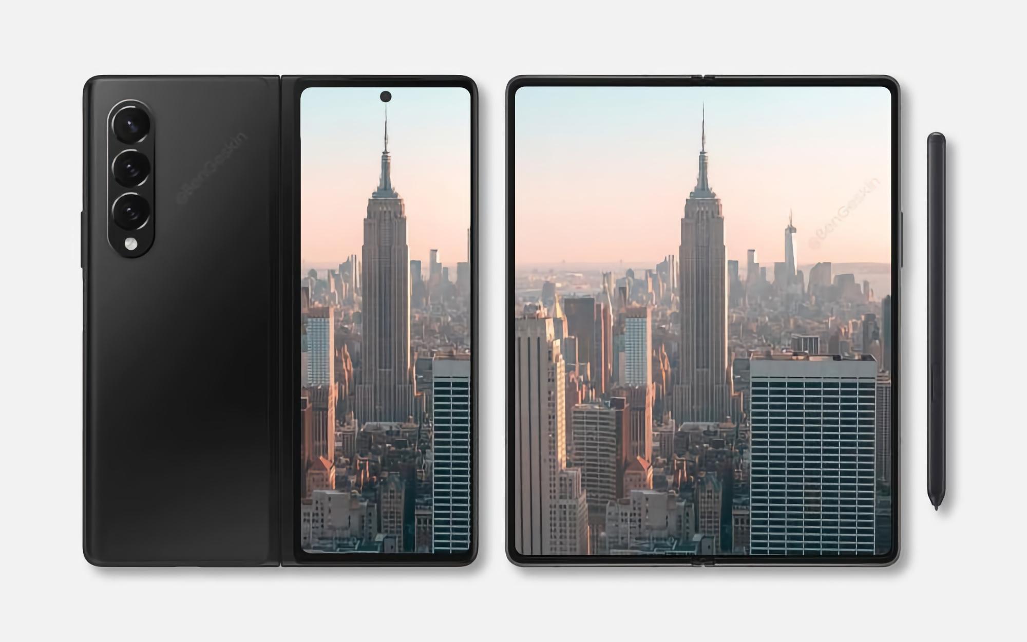 Инсайдер: Samsung начал массовое производство складного смартфона Galaxy Z Fold 3