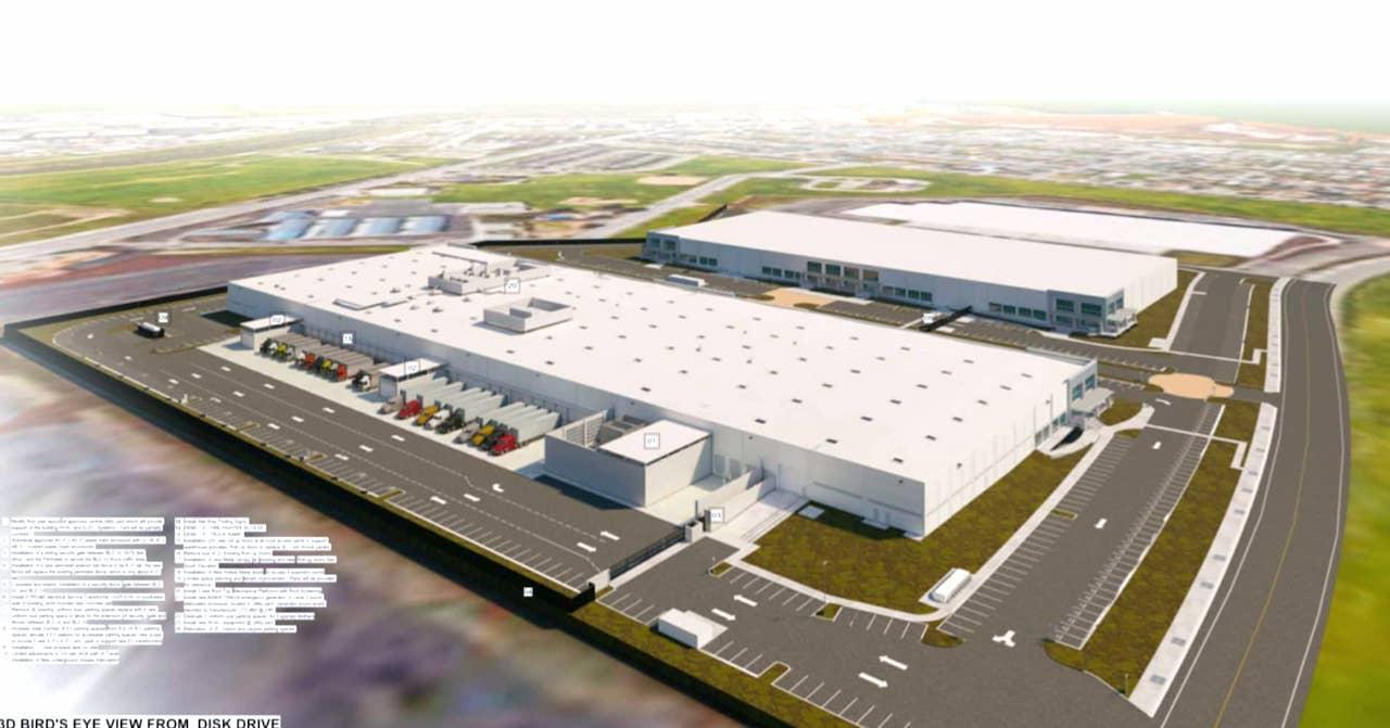 Google планирует создать в Кремниевой долине центр аппаратного обеспечения со складом для перевозки грузов