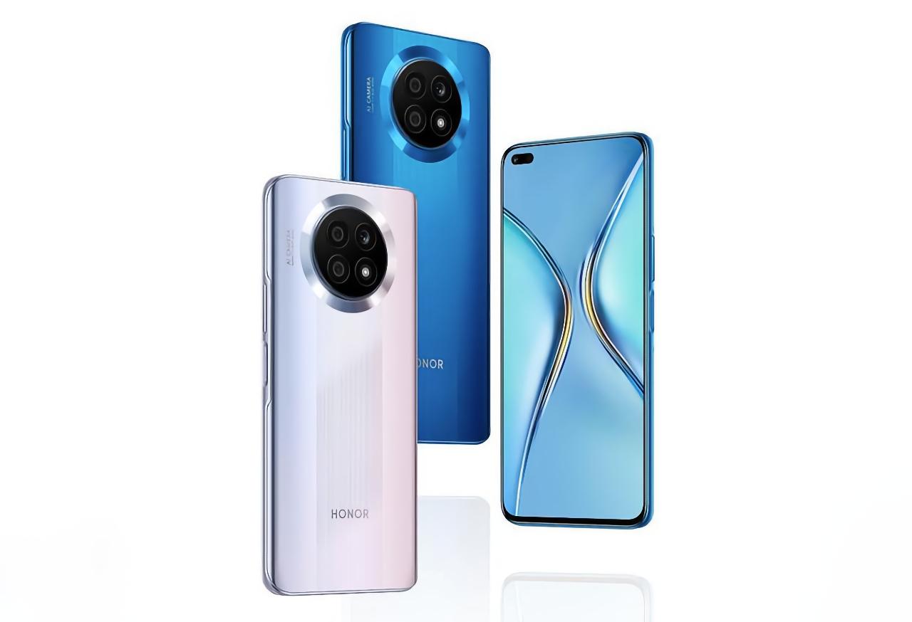 Honor X20 5G с дизайном, как у Huawei Nova 8i появился на новых фотографиях