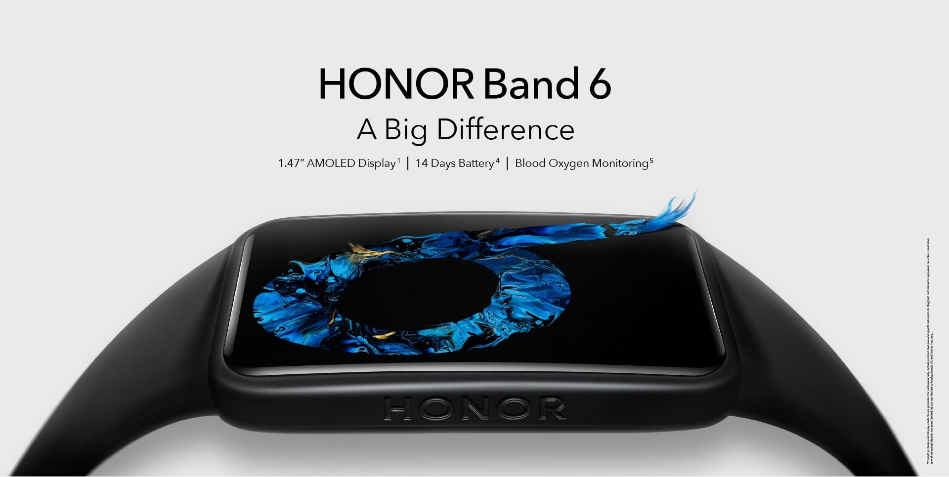 Альтернатива Xiaomi Mi Band 6: Honor Band 6 с безрамочным AMOLED-экраном можно купить сейчас на AliExpress по хорошей цене