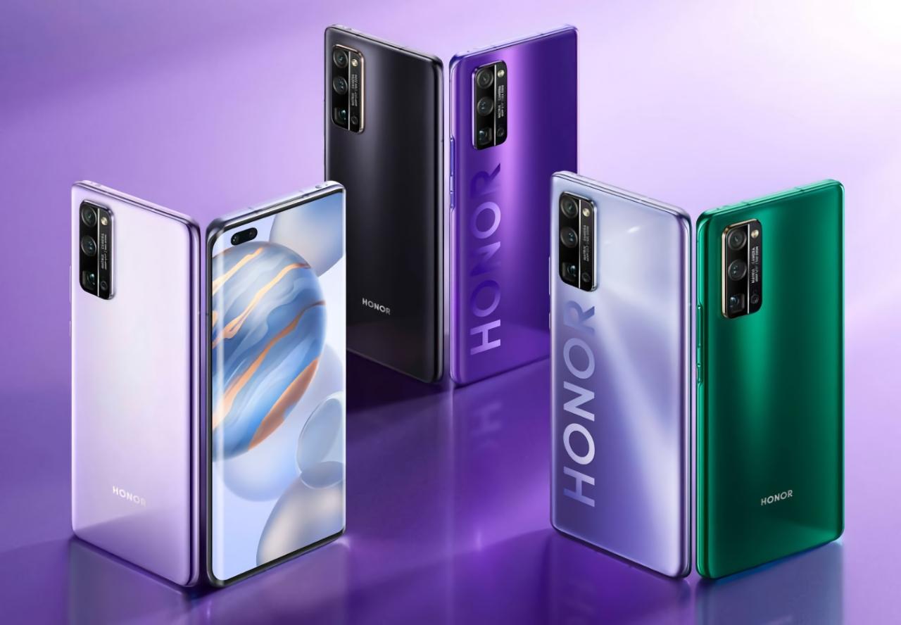 Смартфоны Honor 30 Pro+