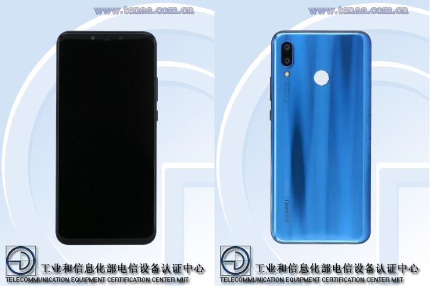 Huawei Nova 3 в TENAA: 6.3-дюймовый дисплей и 6 ГБ ОЗУ