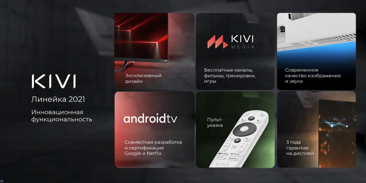 Большое обновление KIVI MEDIA: бесплатные игры, фитнес-тренировки и программа лояльности для всех покупателей телевизоров KIVI