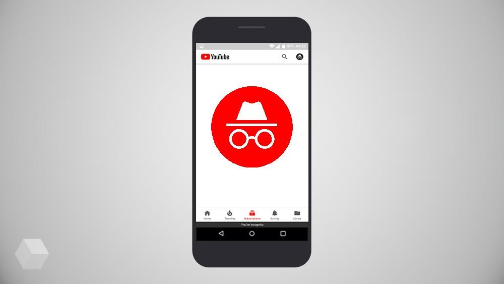 В мобильной версии YouTube появился режим инкогнито