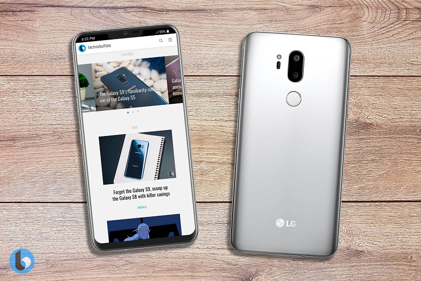 """Monobrov"" and a dual camera: new rendors of the flagship LG appeared"