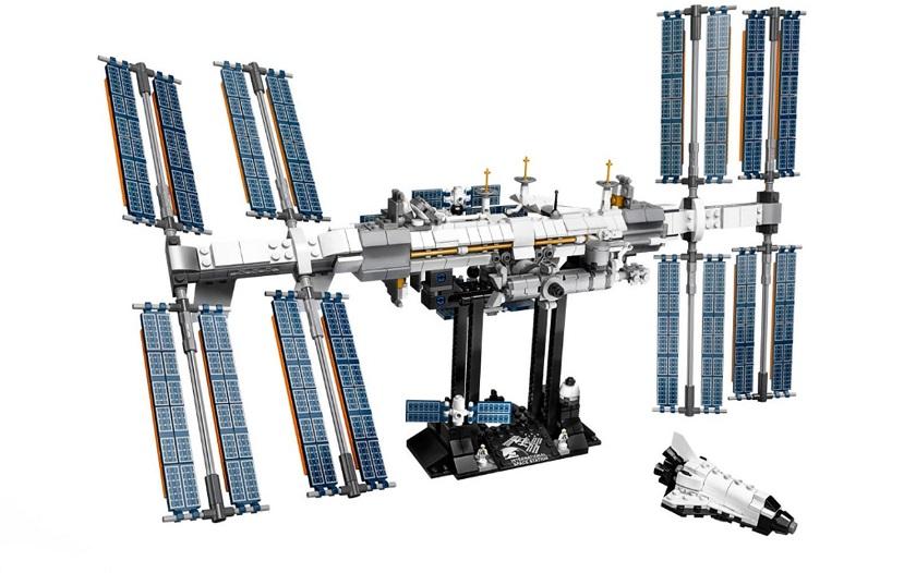 LEGO версия Международной космической станции обойдётся в 70 долларов
