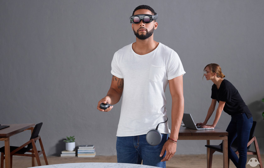 Wait: Magic Leap showed its first AR-glasses