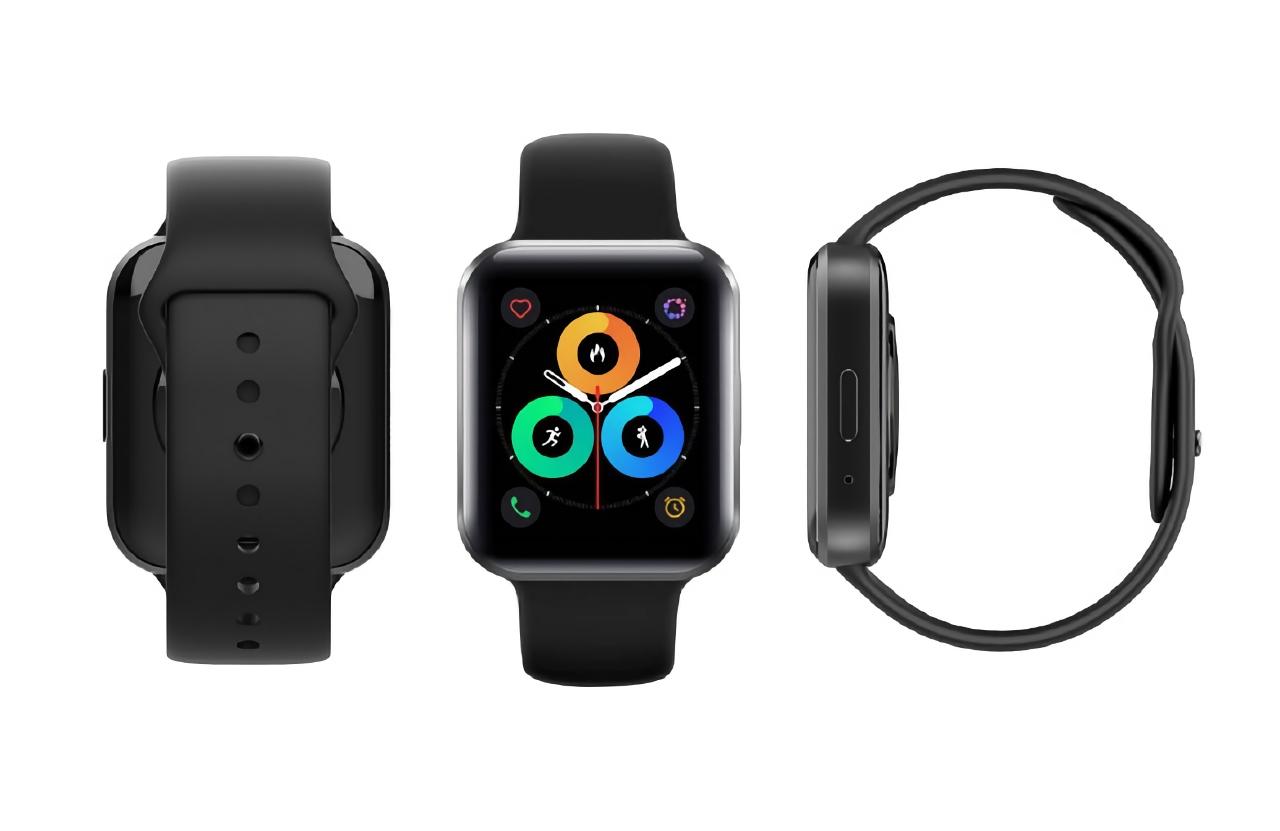 Копия Apple Watch: в сети появились первые изображения смарт-часов Meizu Watch