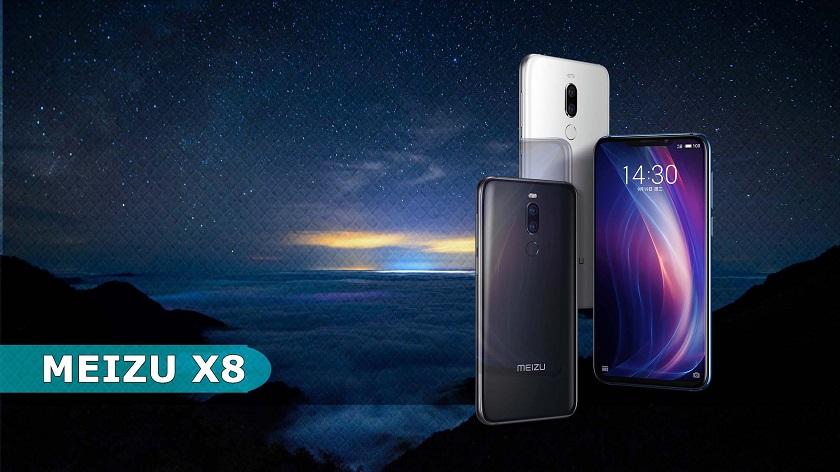 Смартфон Meizu Х8 поступит в реализацию сзадержкой на10 дней