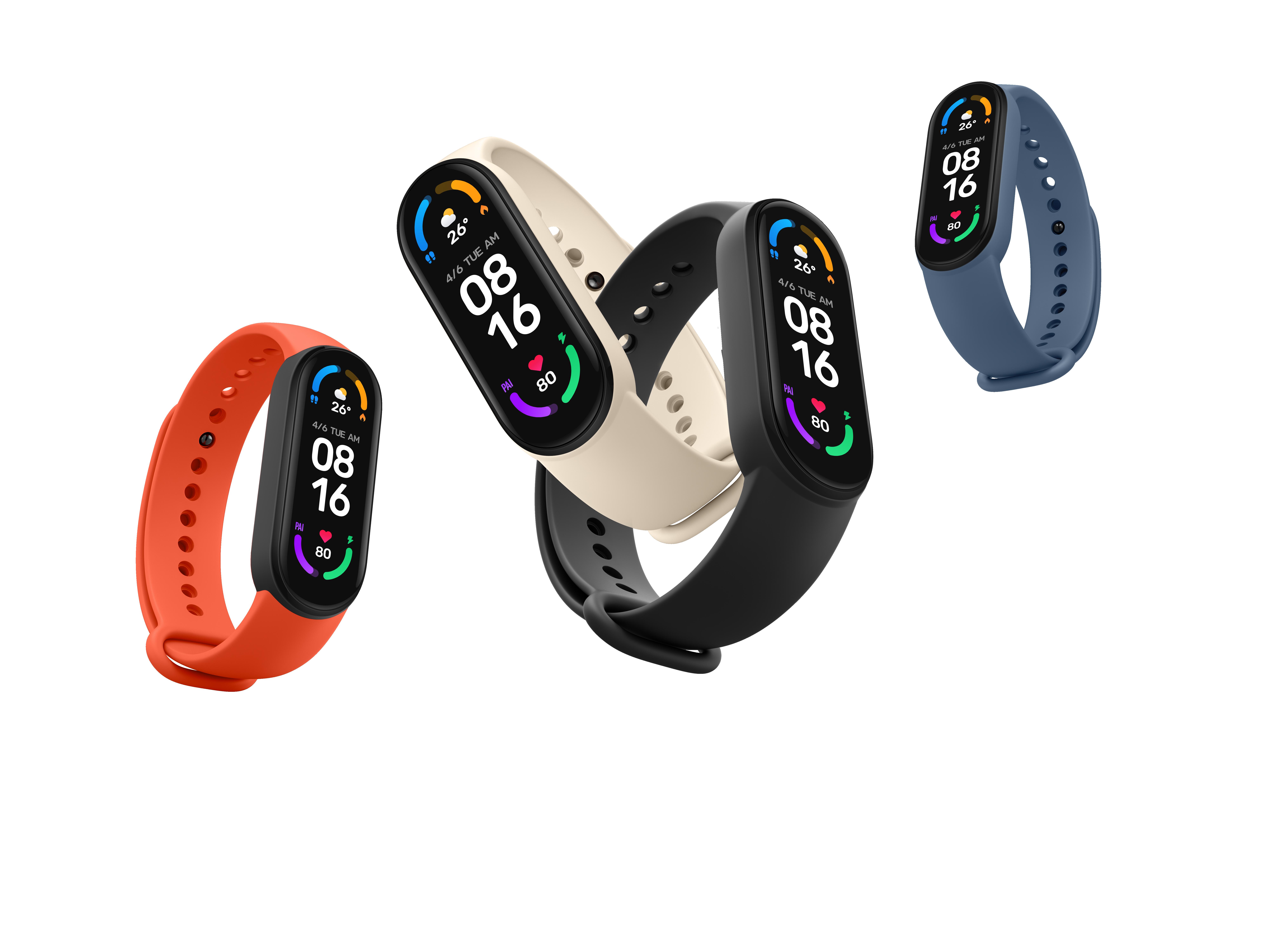 Xiaomi Mi Band 6: фитнес-трекер с увеличенным дисплеем без рамок, датчиком SpO2 и 14 днями автономной работы за $35