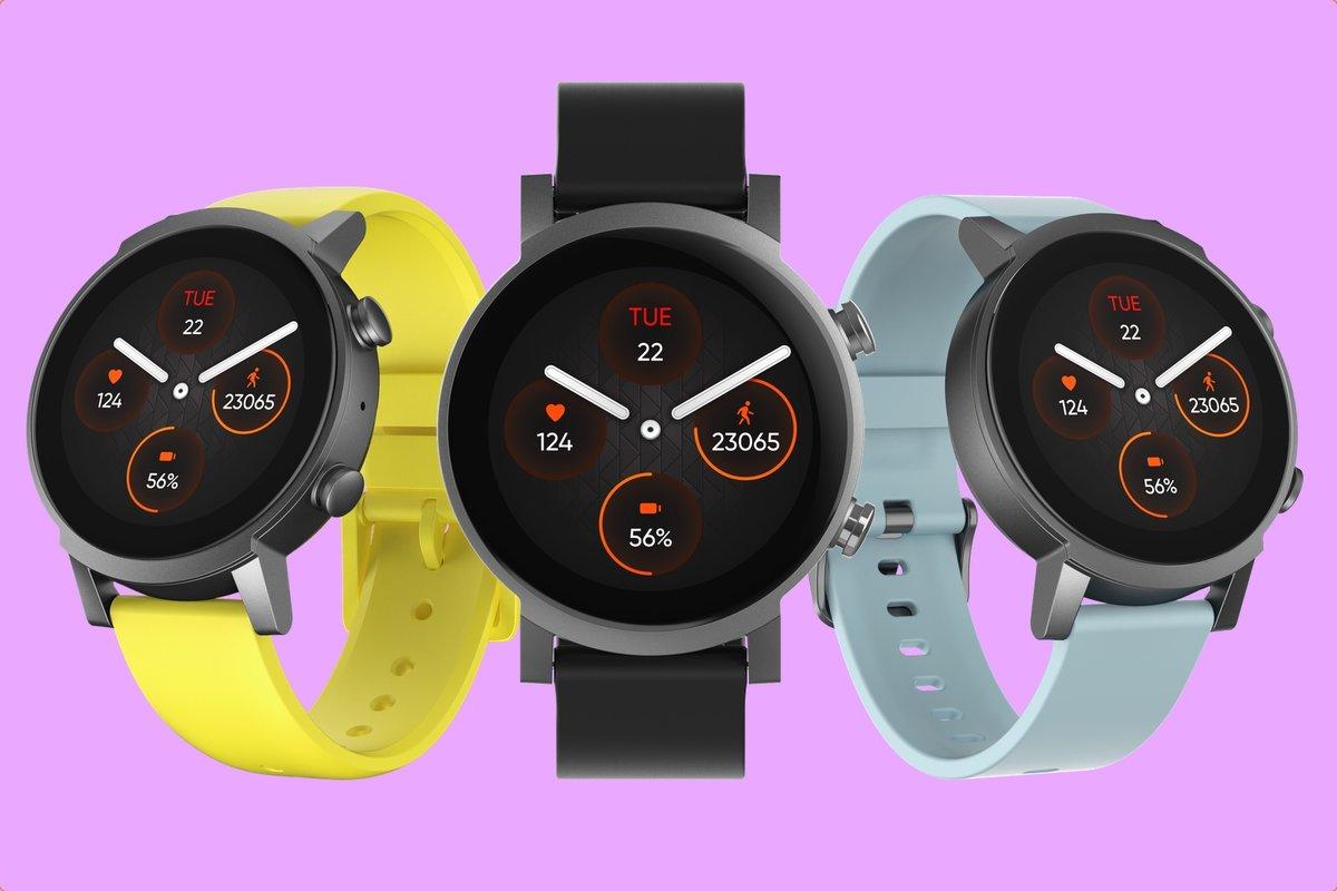 Смарт-часы TicWatch E3 с чипом Snapdragon Wear 4100, 1 ГБ ОЗУ, NFC и Wear OS на борту уже можно купить на AliExpress