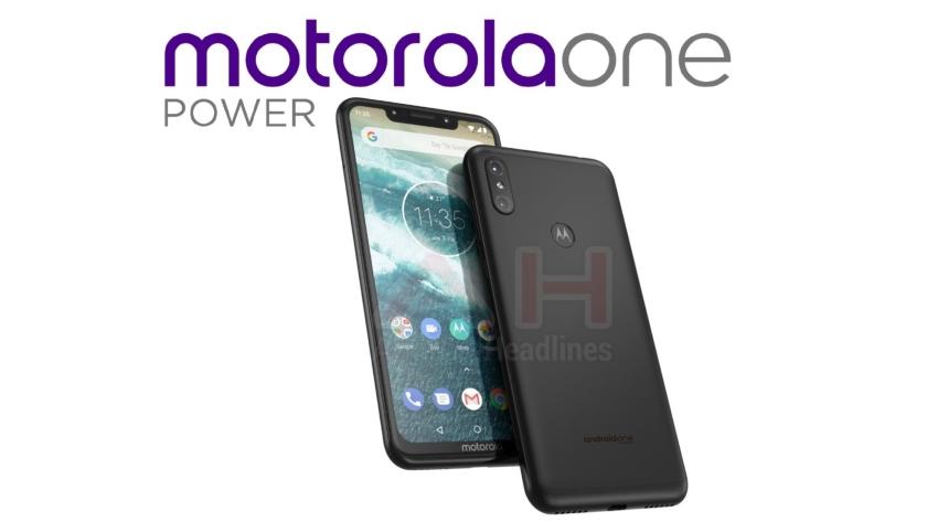 Характеристики и новые рендеры смартфона Motorola One Power