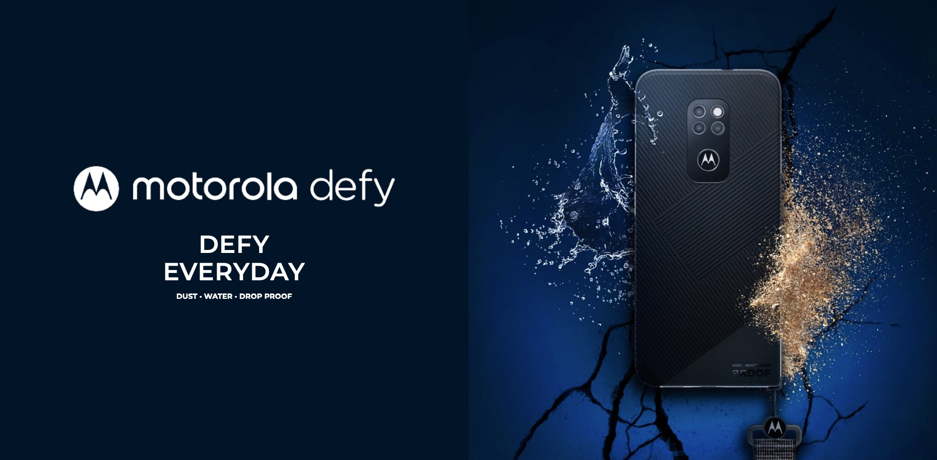 Motorola Defy 2021: ударопрочный смартфон с защитой IP68 и стеклом Gorilla Glass Victus за 325
