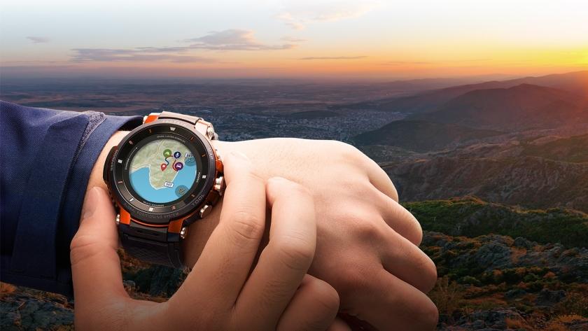 IFA 2018: Casio представила новые «умные» часы Pro Trek Smart WSD-F30