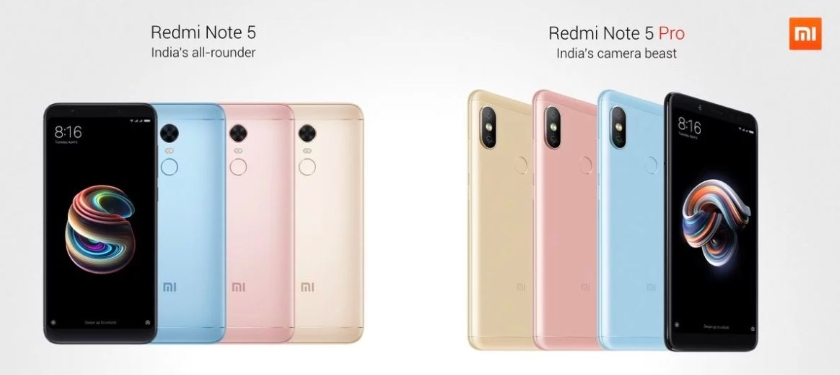 Xiaomi Redmi Note 5 and Note 5 Pro officially submitted