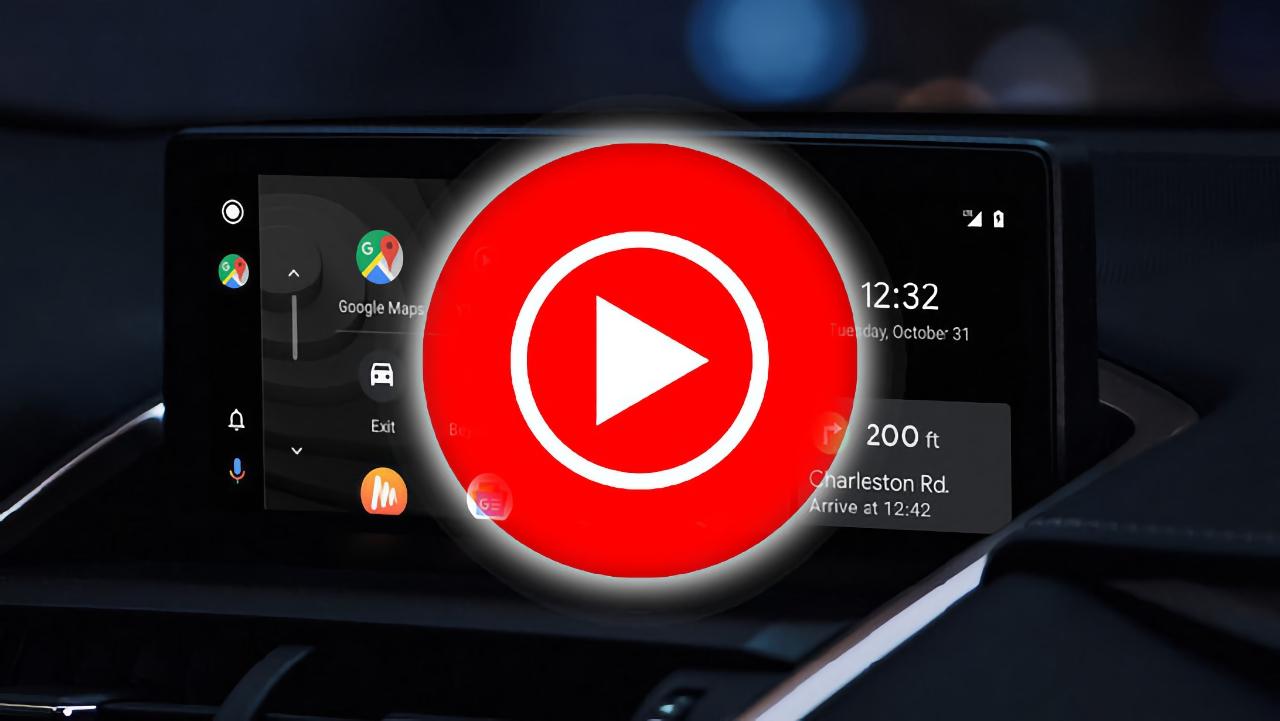 Приложение YouTube Music для Android Auto получило крупное обновление
