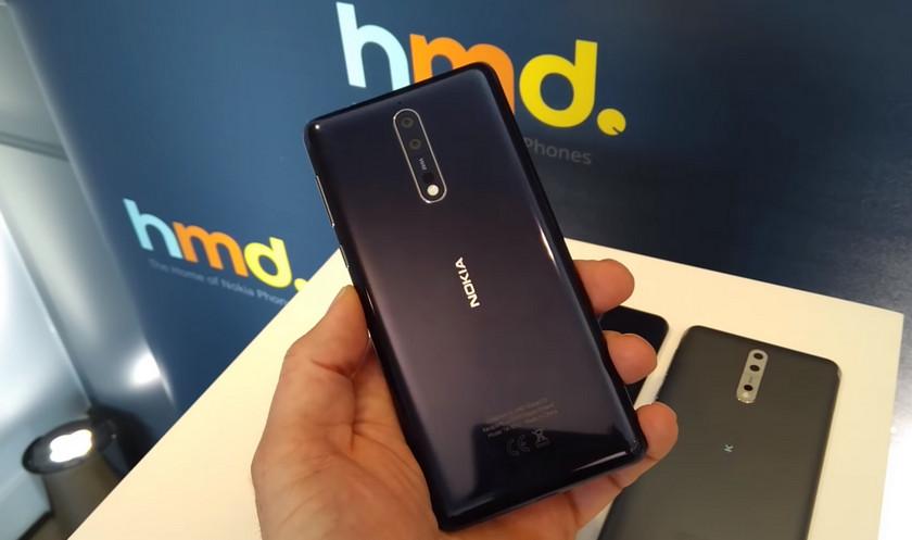 Смартфон Nokia 8 получил обновление камеры с Pro-режимом
