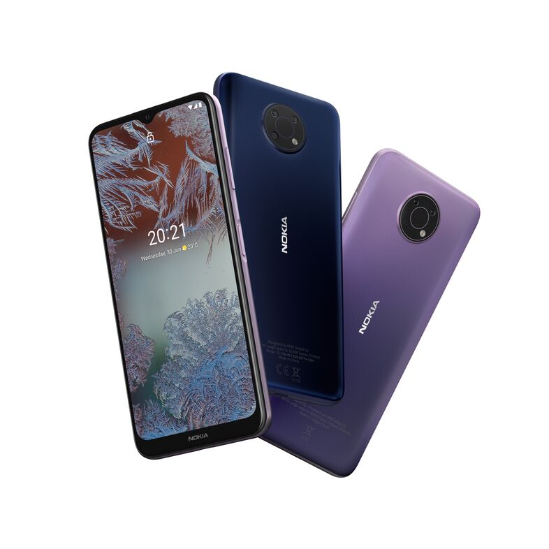 Nokia G10 приехала в Украину: чип MediaTek Helio G25, батарея на 5050 мАч и «чистый» Android 11 за 3399 грн