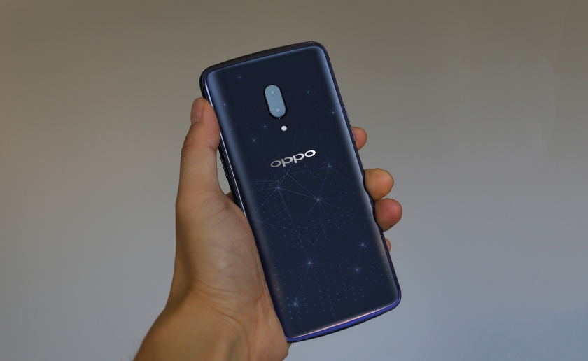 Тизер флагмана Oppo Find X: SD845, 8 ГБ ОЗУ и 256 ГБ ПЗУ