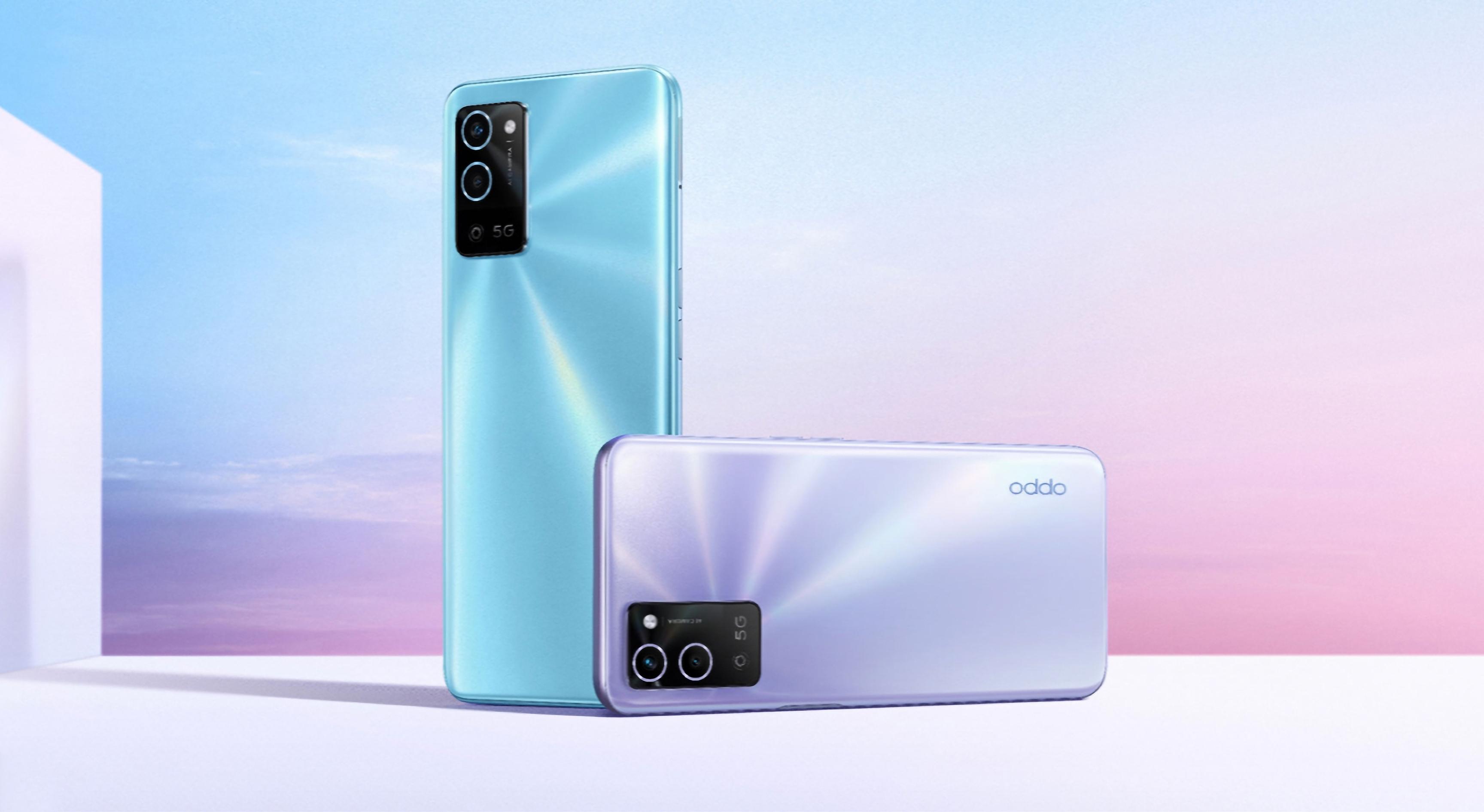 OPPO A56 5G: экран на 6.5 дюймов, двойная камера, чип MediaTek Dimensity 700 и до 11 ГБ ОЗУ за $250