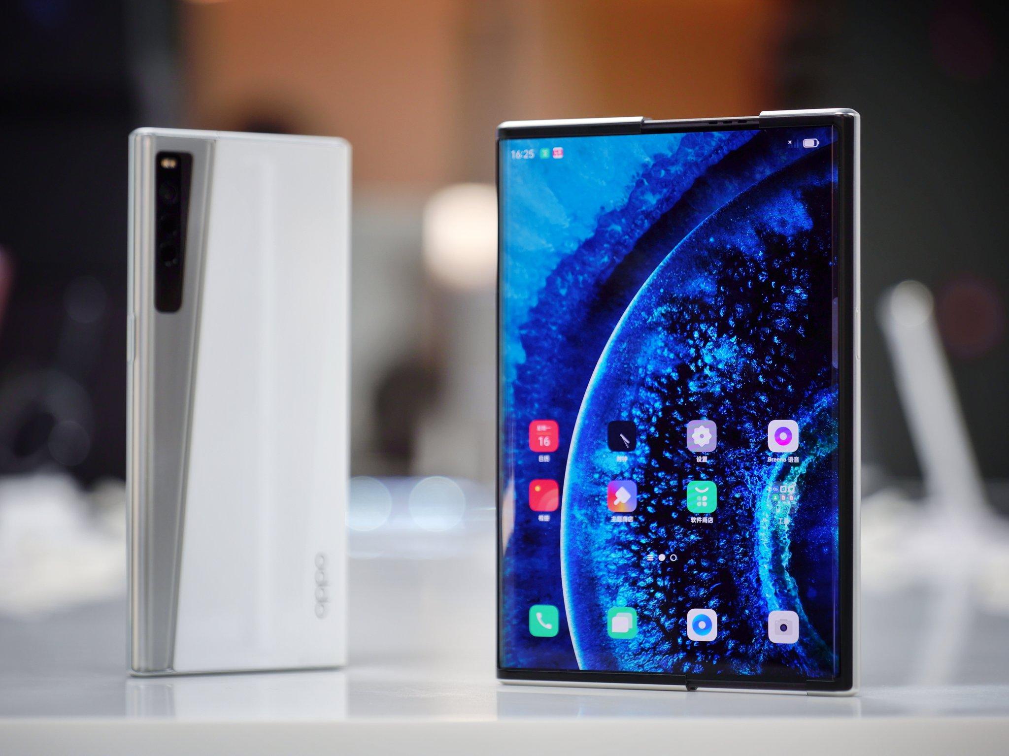 Конкурент Huawei Mate X2 и Samsung Galaxy Z Fold 2: первый складной смартфон OPPO выйдет во втором квартале этого года