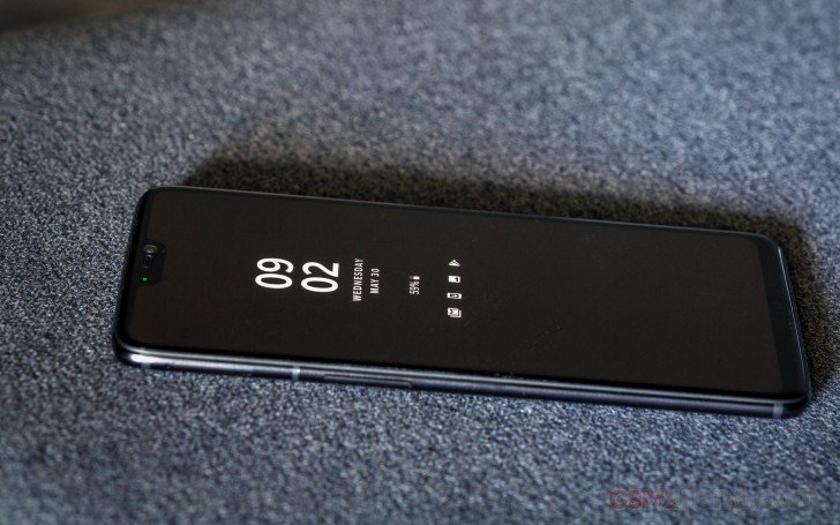 OnePlus вернёт функцию «Always-On Display» для OnePlus 6 в Android P